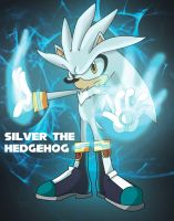Silver the hedgehog by leonarstist06