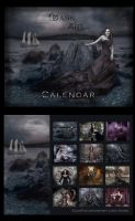 + DARK ART Calendar + by elisafox