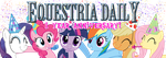 Equestria Daily One Year Banner by Alexstrazse