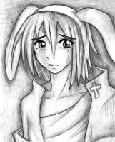 Sad Little Bunny by Ayagirl