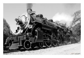 Steaming 2472 by NitzkaPhotography