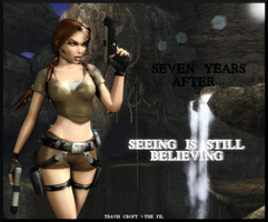 TOMB RAIDER LEGEND (BETA) - Lara + equipment by TravisCroft6