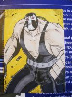Bane Sketchcard by TheBoo