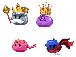 Royal Slimes by rongs1234