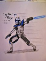 Captain Rex by KkaroKaro