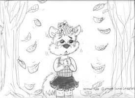 Fall...awwww by Artytoons
