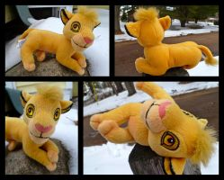 Simba On Ice Beanie For Sale by DoloAndElectrik