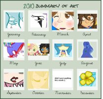 2010 art summary by colorwonders