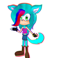 :.:Neus The Hedgewolf:.: by LokaExpresivaxDD