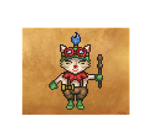 LoL Pixels #2: Teemo by Luthur