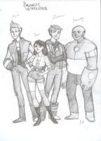 Bravest Warriors by drakonarinka