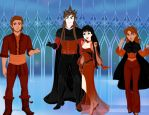 Everlasting Antagonists (Snow Queen Scene Maker) by MrsAllenWalker500