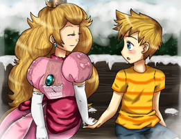 Peach and Lucas by SomeJaneDoe