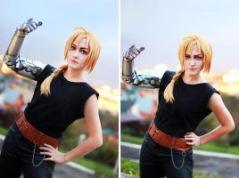 Edward Elric FMA brotherhood 02 by Megane-Saiko
