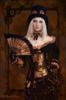 Steampunk Queen by cemac