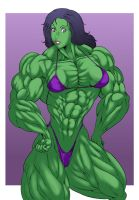 She-Hulk by ikura-maru