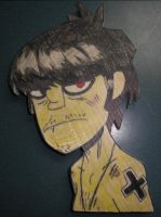 Murdoc phase 2 wood by 23-hour-party-people