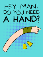 Adventure Time - Do you need a hand? by ebizo77