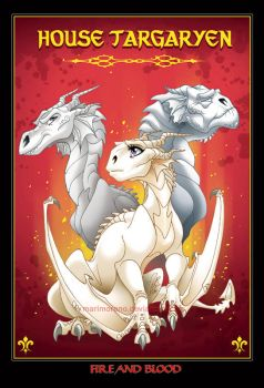 House Targaryen by marimoreno