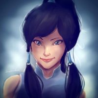 Korra by thechinchen