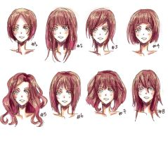Anime hair style by nyuhatter