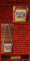 Candy Bag 1 - Peanut M&M's by AquaQueen27