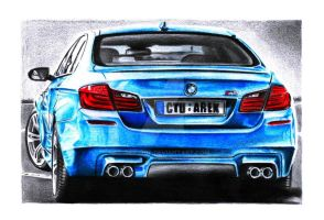 BMW M5 F10 by Arek-OGF