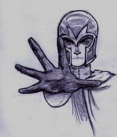 Magneto. by wintercaptain