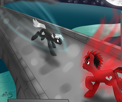 Night Battle by JitterbugJive