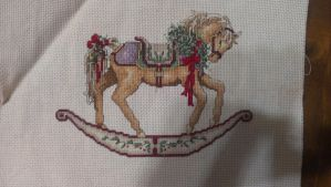 Rocking Horse Cross Stitch 1 by Sippen