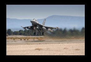 F-16 OT Heat Haze by jdmimages