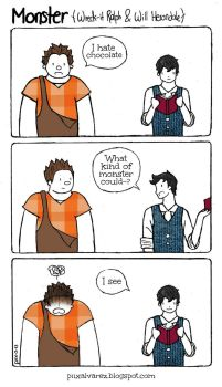 Monster (Wreck-it Ralph and Will Herondale) by SoyDavo