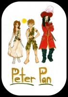Peter Pan by psycobabble402