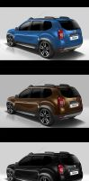 Dacia Duster-back view by EDL by EDLdesign