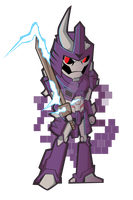 Chibi Cyclonus (MTMTE) by Kath-the-shadow
