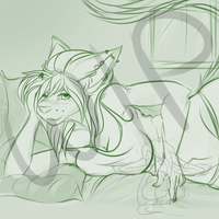 COM. SoRelaxed. Cloud9Necco. WIP by CuteAnCuddly