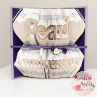Pearl Anniversary Book Fold by RaindropMelody