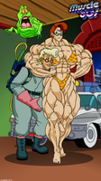 Muscle 80s - The Real Ghostbusters. by Atariboy2600