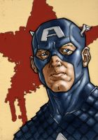 Captain America by monstrous64