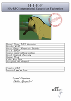 Official HIEF Registration RMS Vesuvius by theRyanna