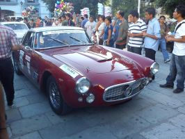 an old maserati by gearwrench