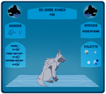 PARPG - Fisi - Reference Sheet by kh180