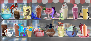 The Soda and Ice Cream Shop by Deviant-Soulmates