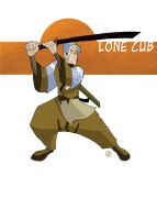 Lone Cub Colors by Salvador-Raga