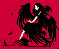 black wings and trivial things by obiewolf