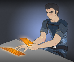 Kaidan the Technodork by uglynoodles