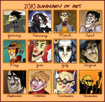 Art summary 2010 by SIIINS