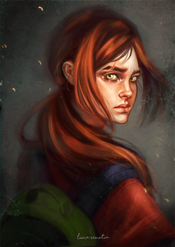 Ellie - The last of us. by LunaRemotia