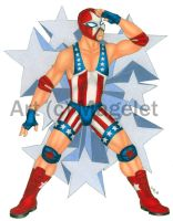 The Star Spangled butt Kicker by Magelet