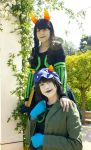 Reunited [The Disciple and Nepeta] by Mitsuki-Aizawa